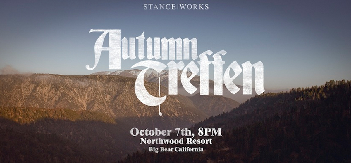 STANCE|WORKS Autumn Treffen -- October 7th