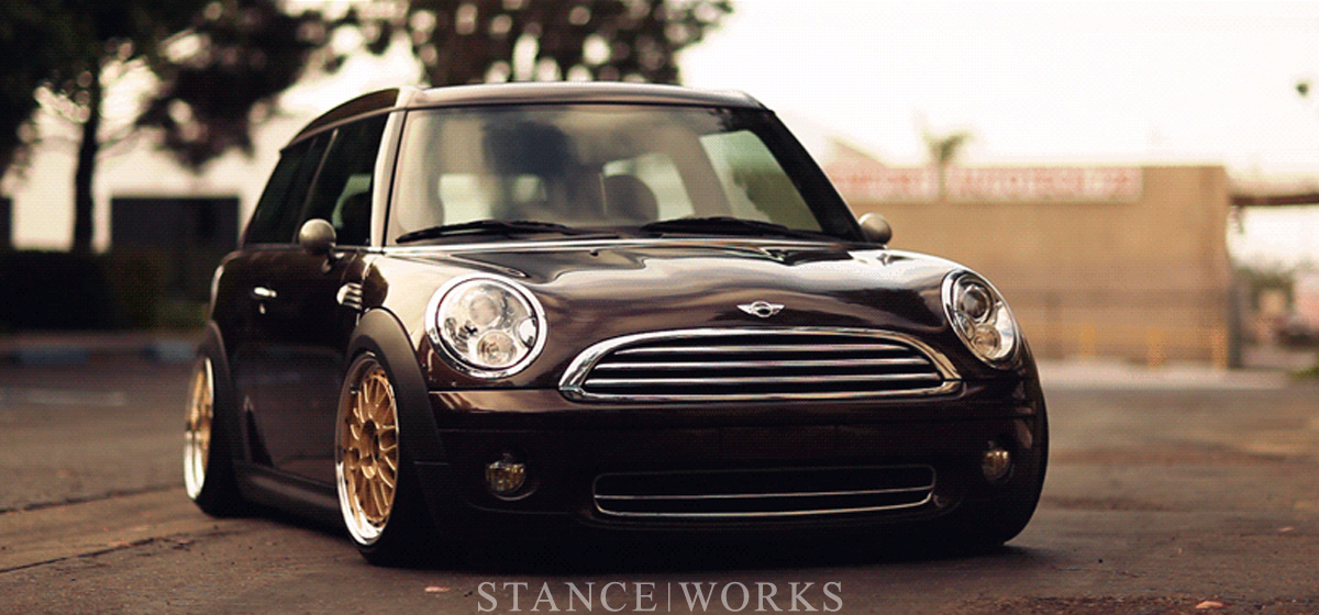 StanceWorks Project Update: Andrew's Mini Clubman