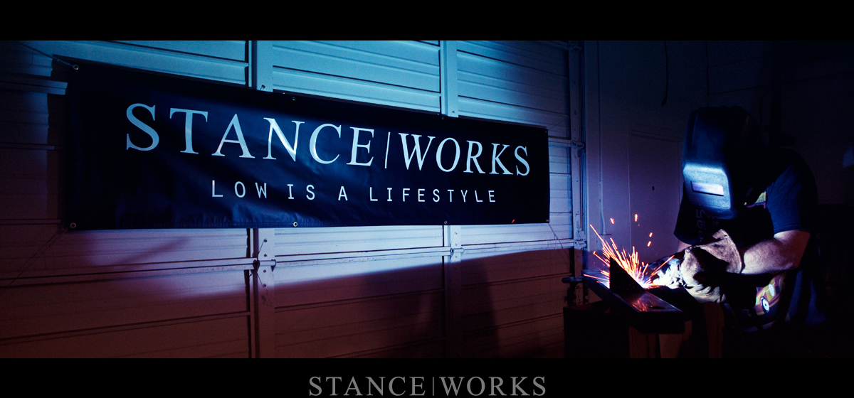 Raise Your Colours: The Stance|Works Garage Banner