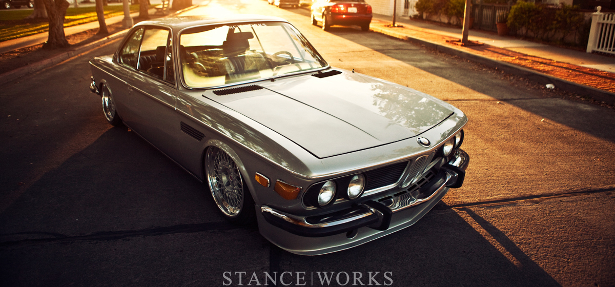 A Walk in the Park with my Gal: Mike Burroughs's 1971 BMW E9