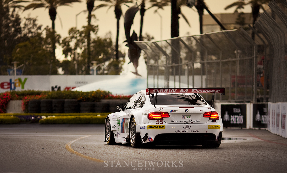 BMW ALMS M3 Long Beach Fountain