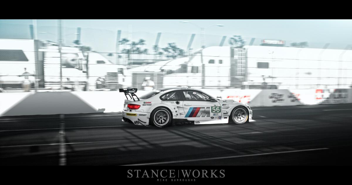 BMW ALMS M3 straight
