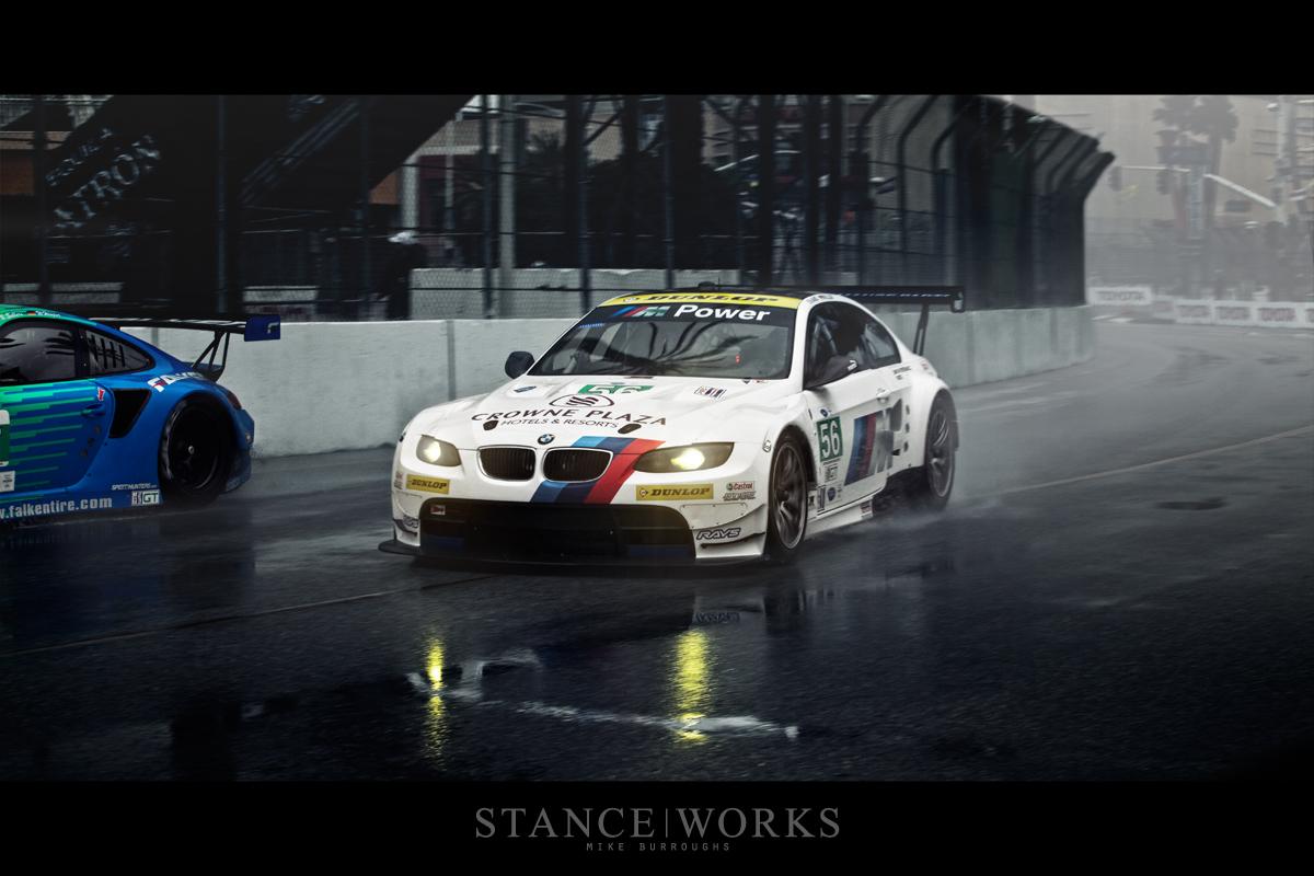 BMW ALMS Porsche