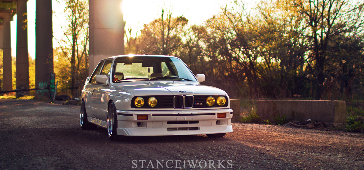 A Derivative of Function and Form: George Voutsinos's BMW E30 M3