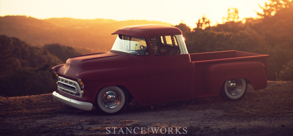 An Intrinsic Value : Adam's Rotors 57 Chevy Pickup