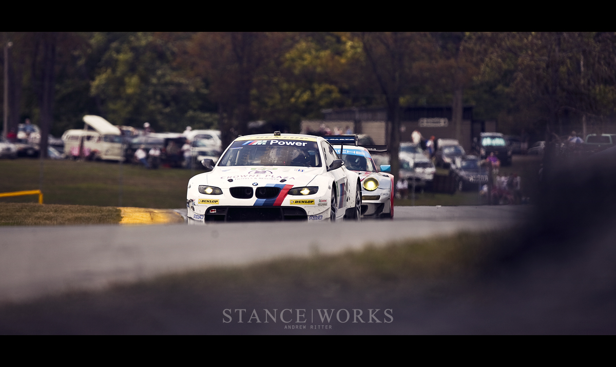 BMW ALMS race
