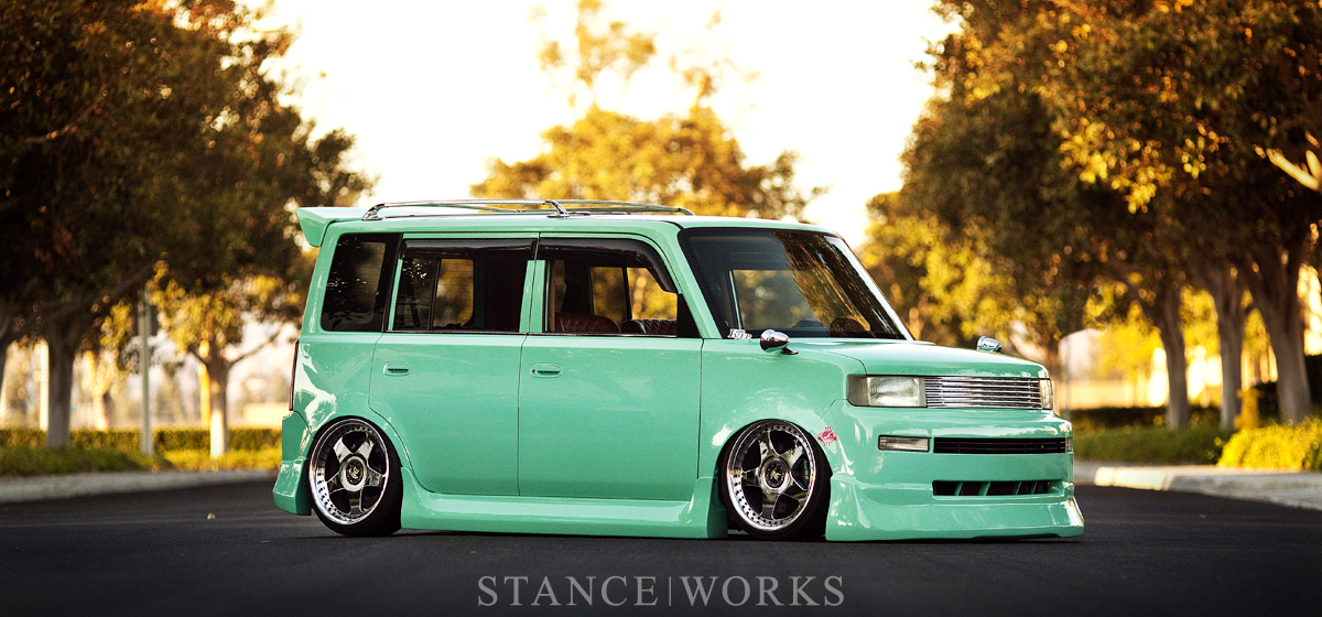 An Artist's Canvas - Todd Nakanishi's Bagged Scion xB