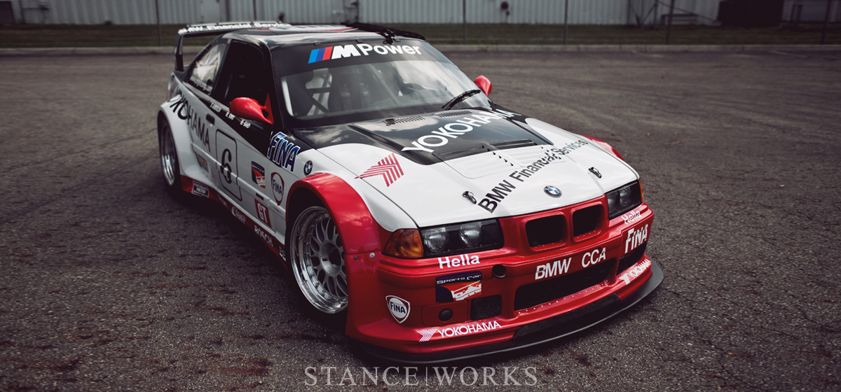 BMW of North America's Vintage Collection: The PTG E36 M3