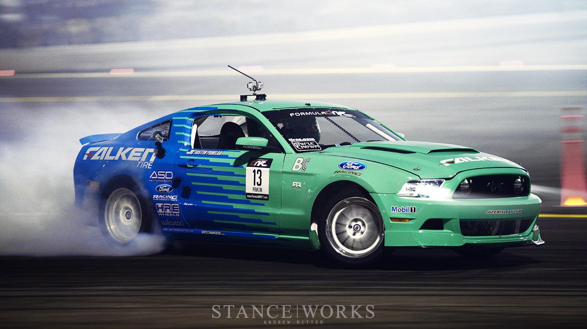 Falken Ford Mustang Formula Drift Irwindale Speedway