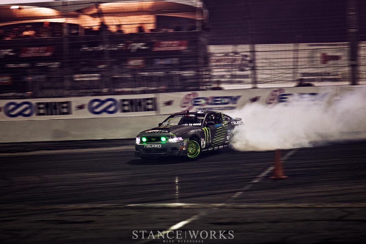Vaughn Gittin Formula Drift Irwindale Speedway