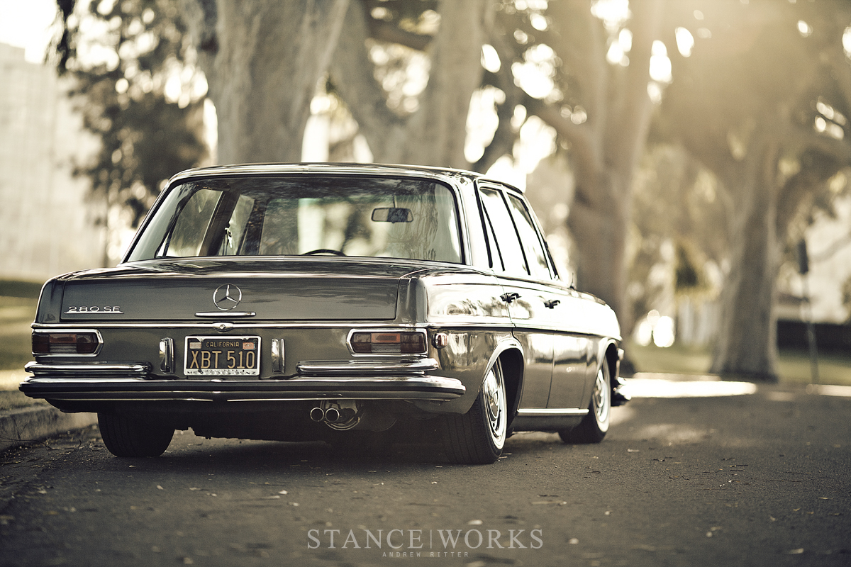 low bagged mercedes benz
