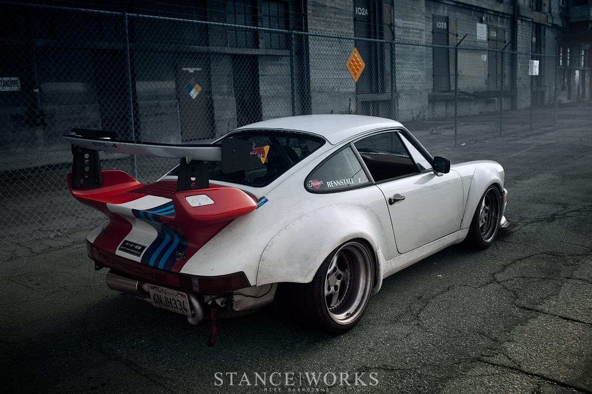 Porsche 911 flares