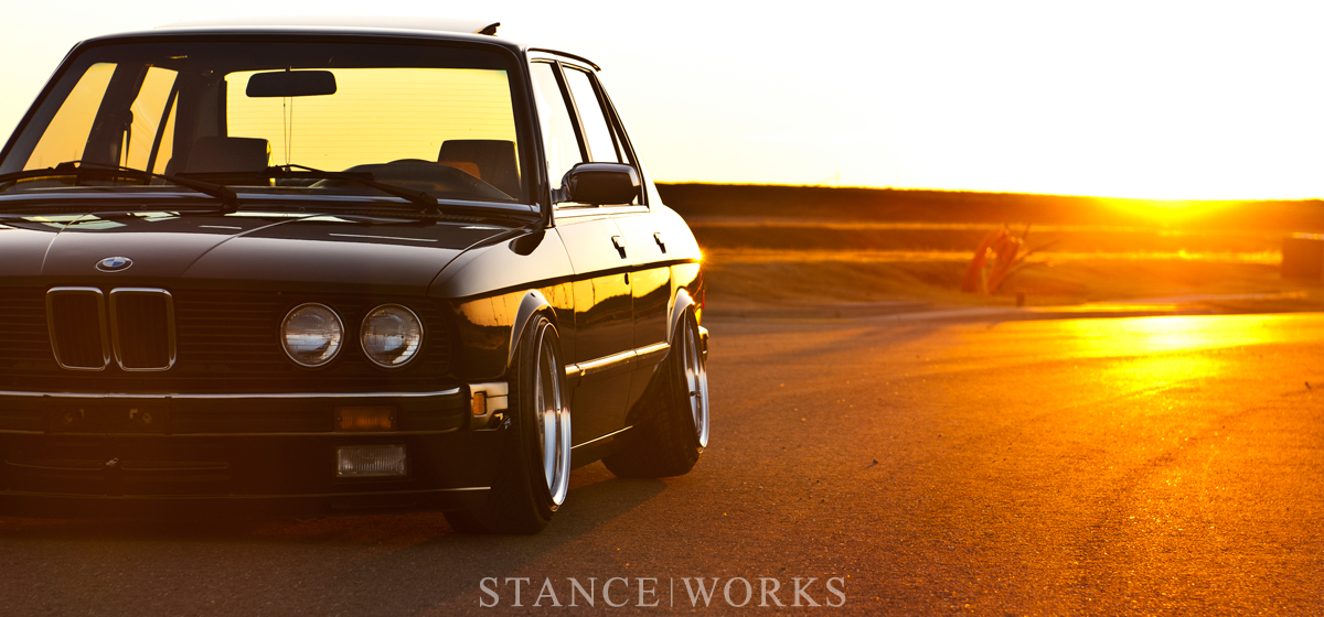 As Long As It's Black - Riley Stair's 1986 BMW E28 535i