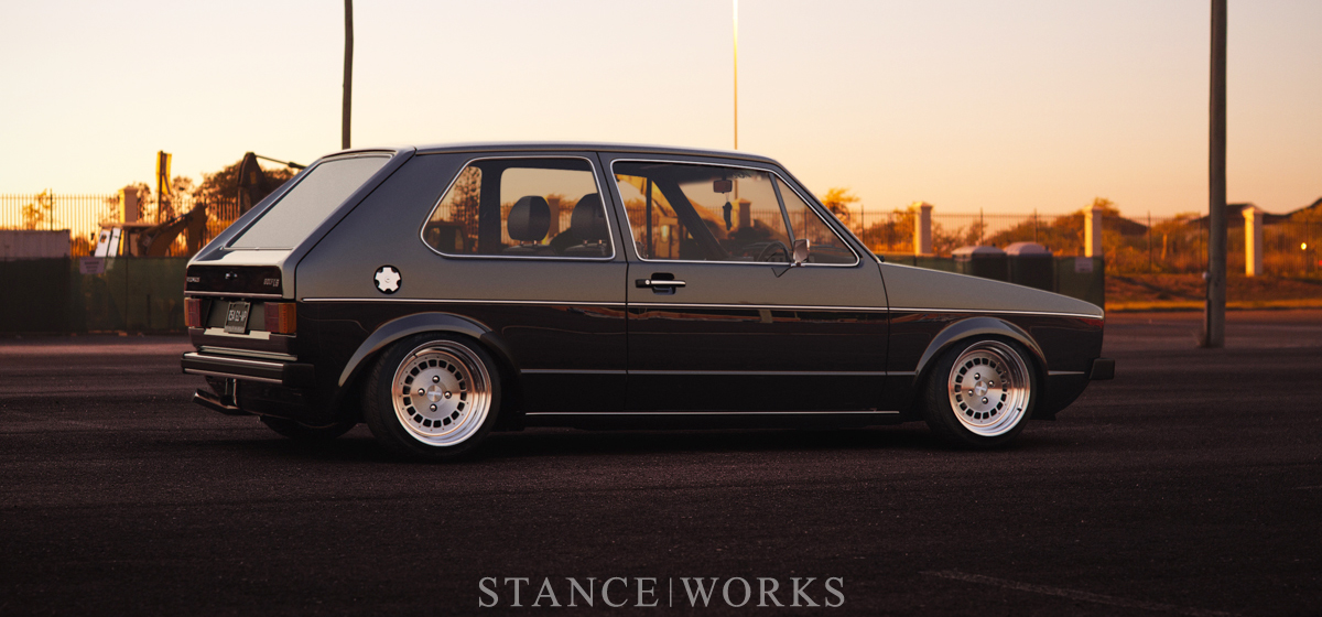From the Ground Up - Gavin Haywood's One-Off VW MK1 Golf LS