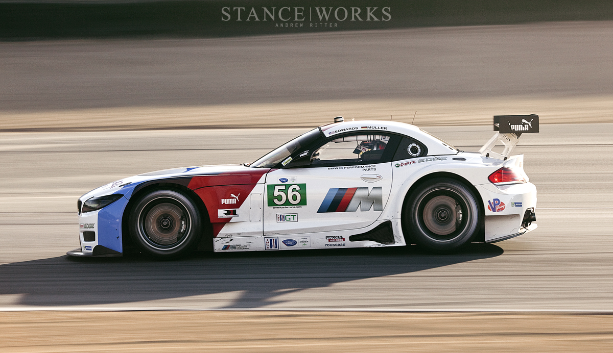 ALMS BMW Z4 GTE Team RLL