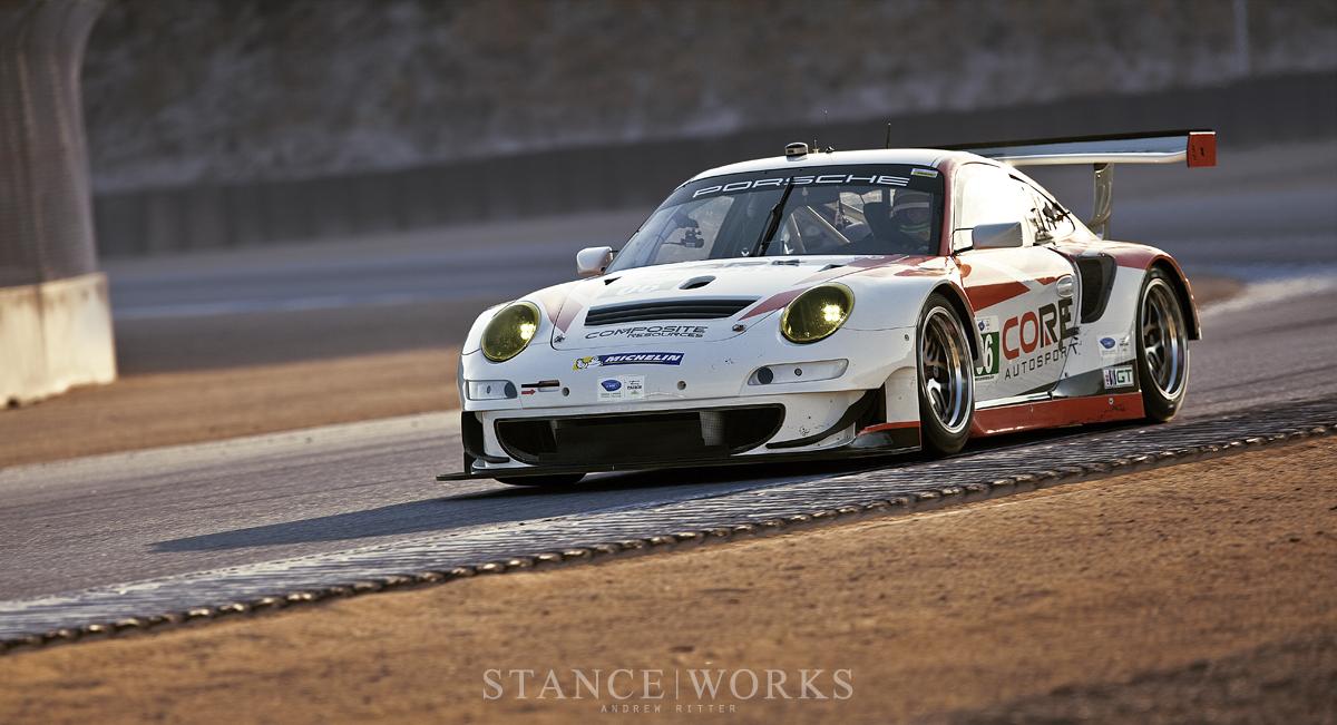 ALMS Core Autosport Porsche 911