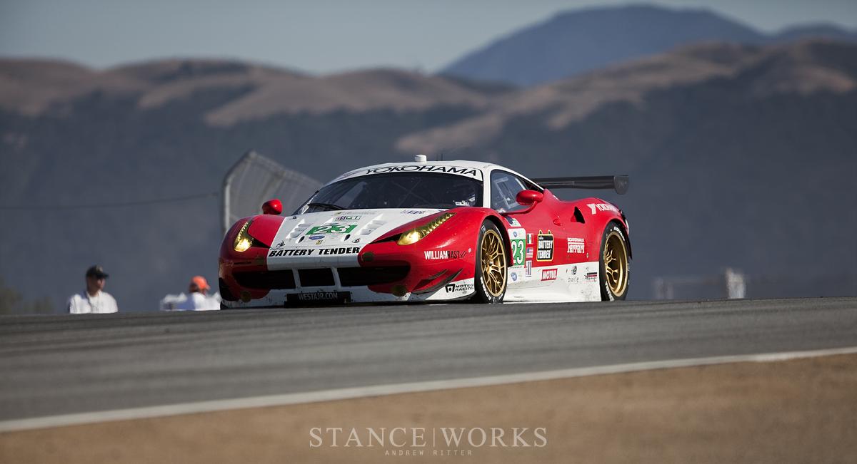 ALMS Ferrari Laguna Seca