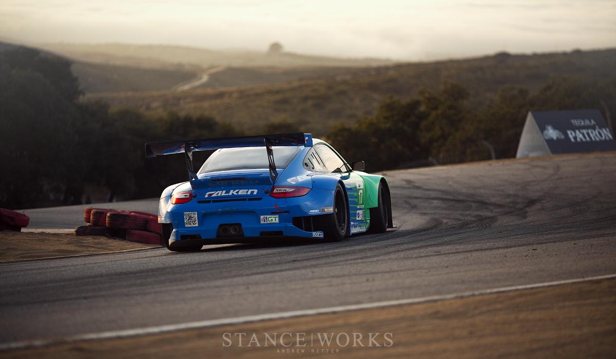ALMS Team Falken Porsche 911 GT3