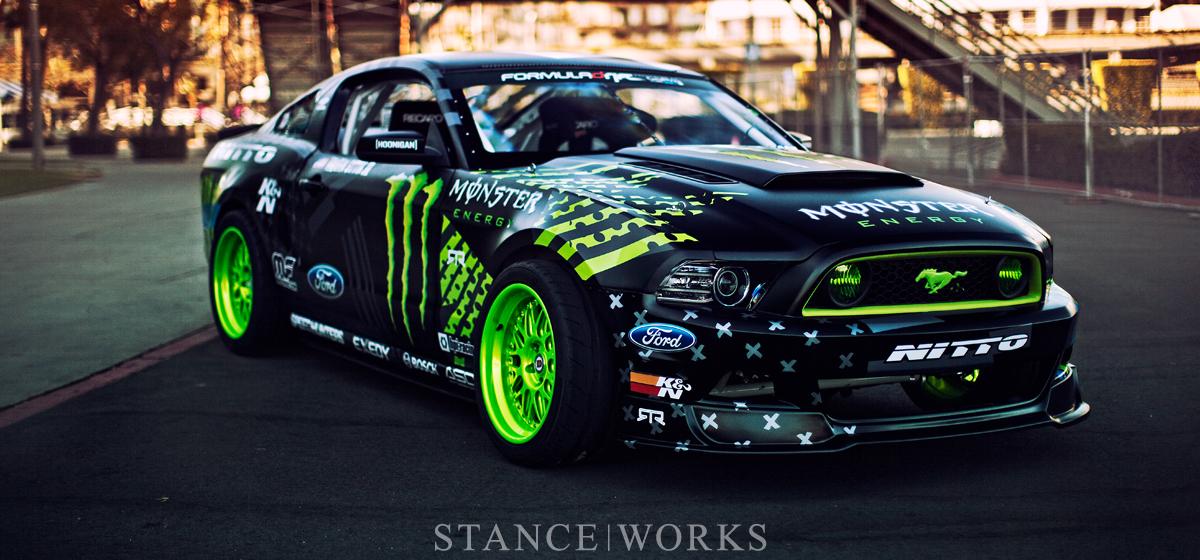 Wild Horses - Vaughn Gittin Jr's Monster Energy / Nitto Tire Formula Drift Mustang RTR