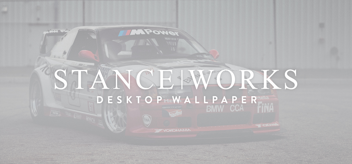 StanceWorks Wallpaper - The BMW PTG E36 M3
