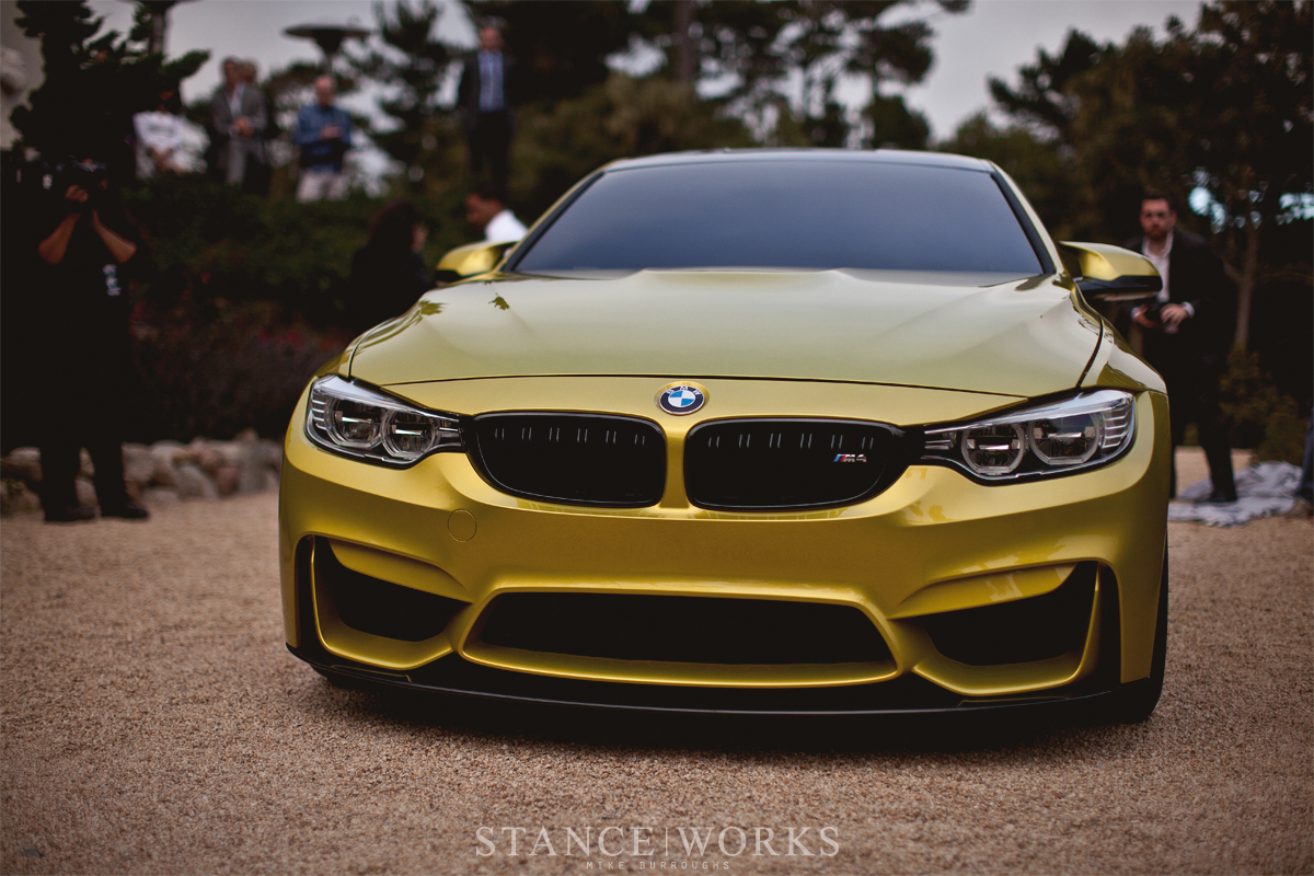 bmw m4 coupe yellow