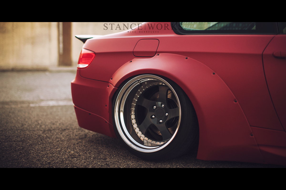 liberty walk bmw rotiform tmb