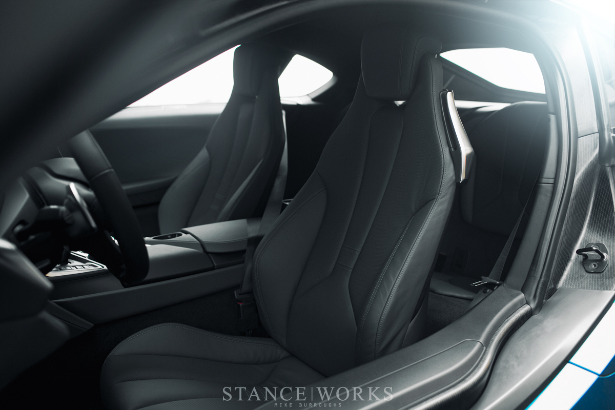 bmw I8 interior seats