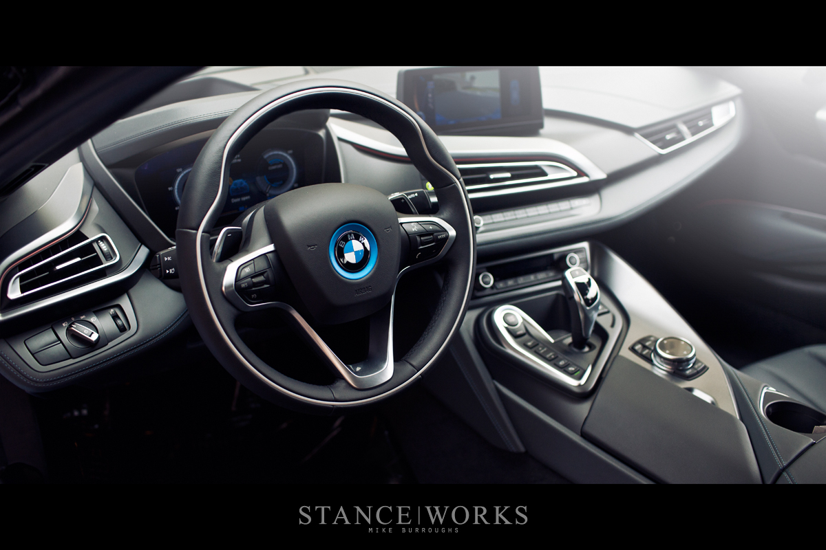 bmw i8 interior steering wheel