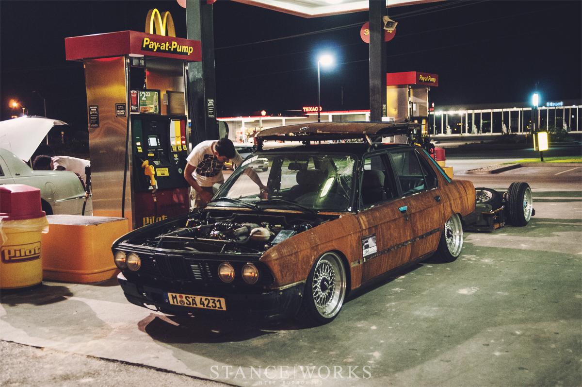 Rust Slammington BMW 5 Series