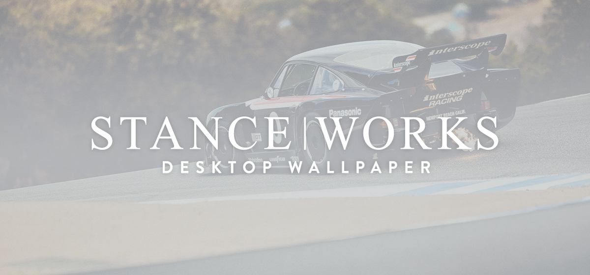 StanceWorks Wallpaper - The Interscope Porsche 935 Spitting Flames