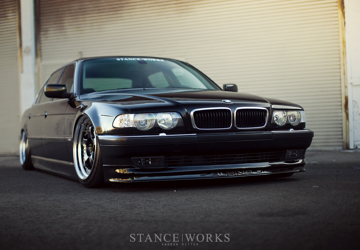 Bruised Egos Jeremy Whittle S Black On Purple Bmw 740il