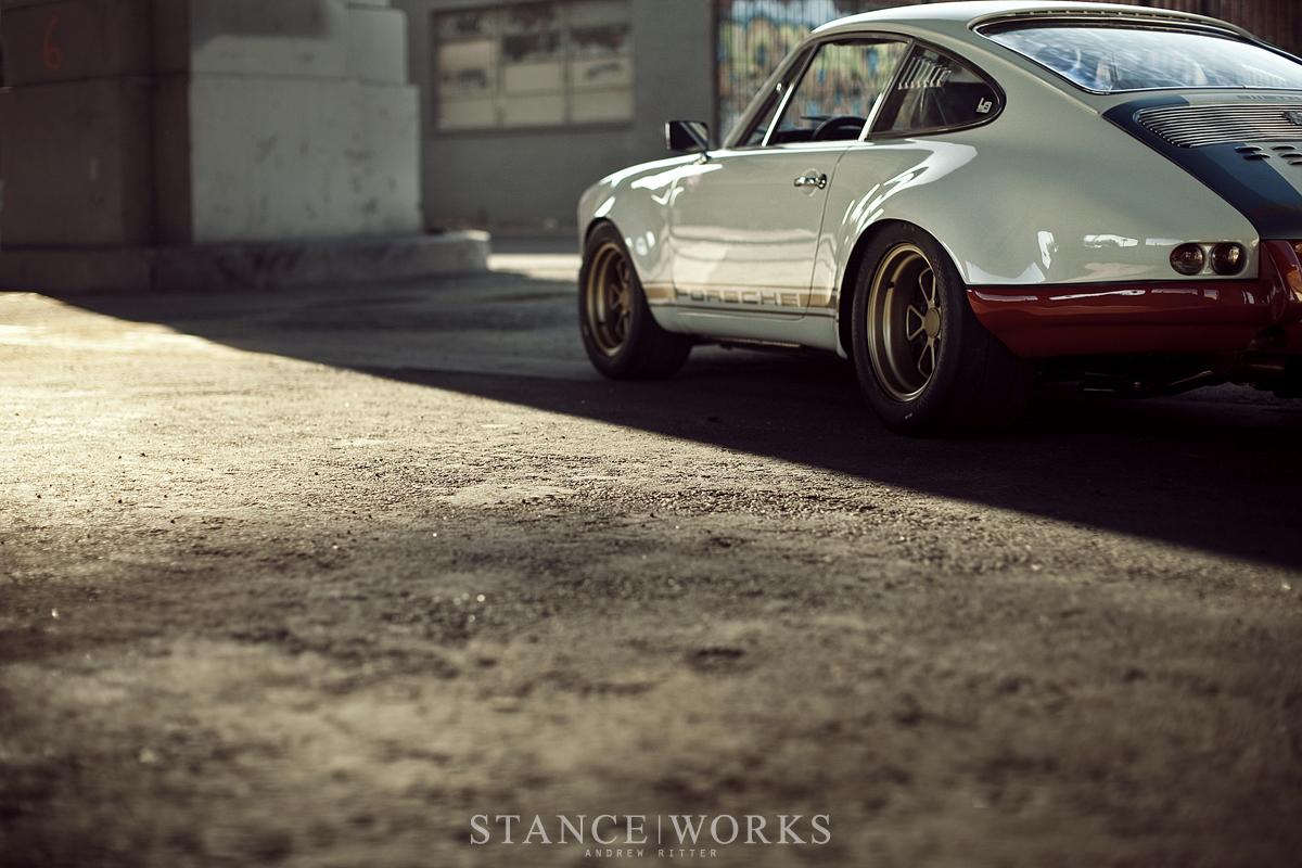 Magnus Walker Porsche 911 Wheels Outlaw 001 Gold