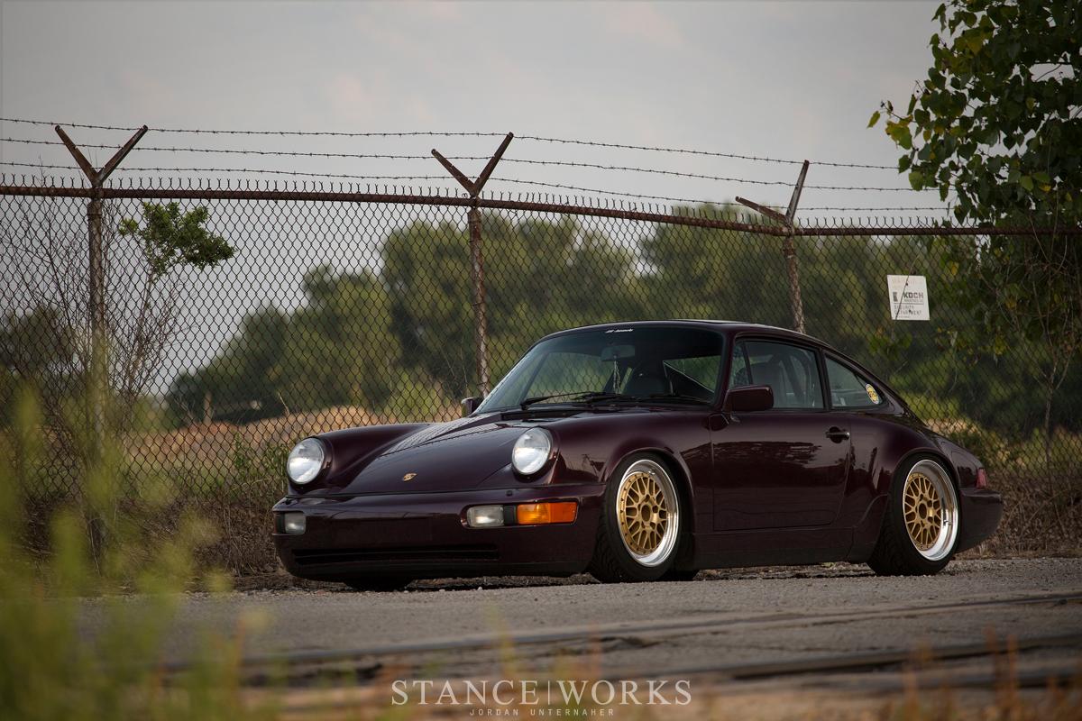 1991 Porsche 964 911 purple