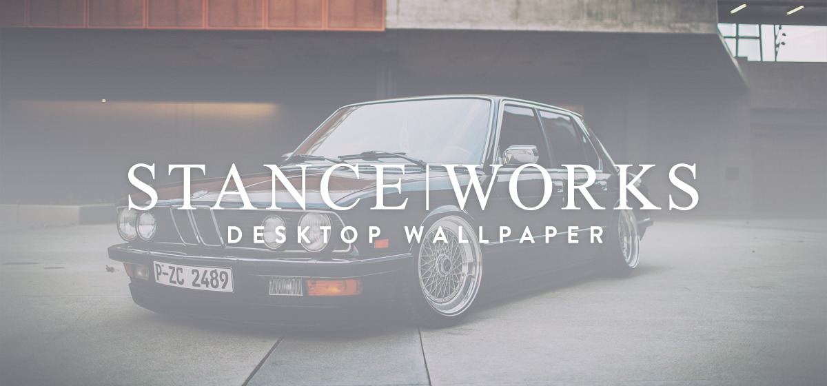 StanceWorks Wallpaper - Jeremy Whittle's E28