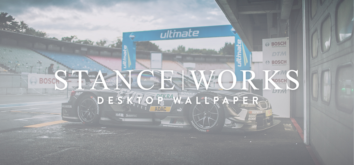 StanceWorks Wallpaper - Joey Hand's 2013 BMW E92 DTM Race Car