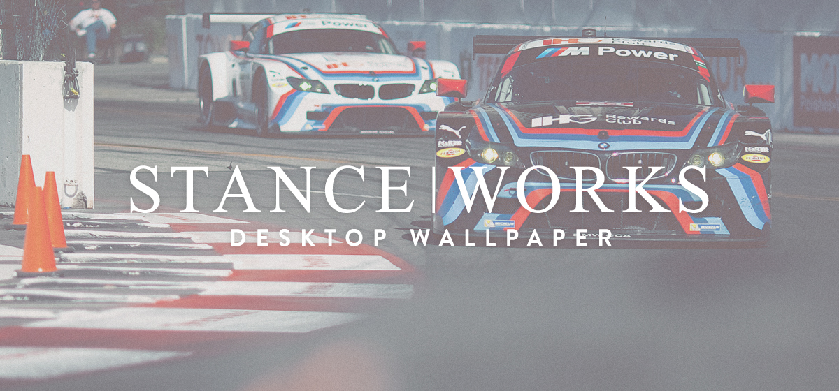 StanceWorks Wallpaper - The Team RLL Z4 GTEs in Long Beach