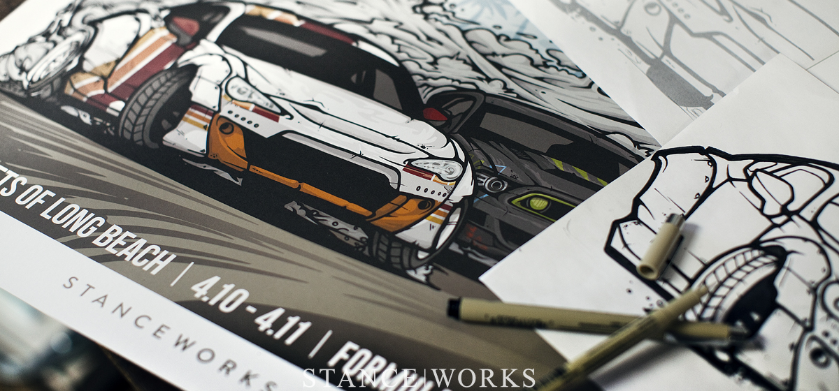 Formula Drift Streets of Long Beach - Limited Edition Art Print