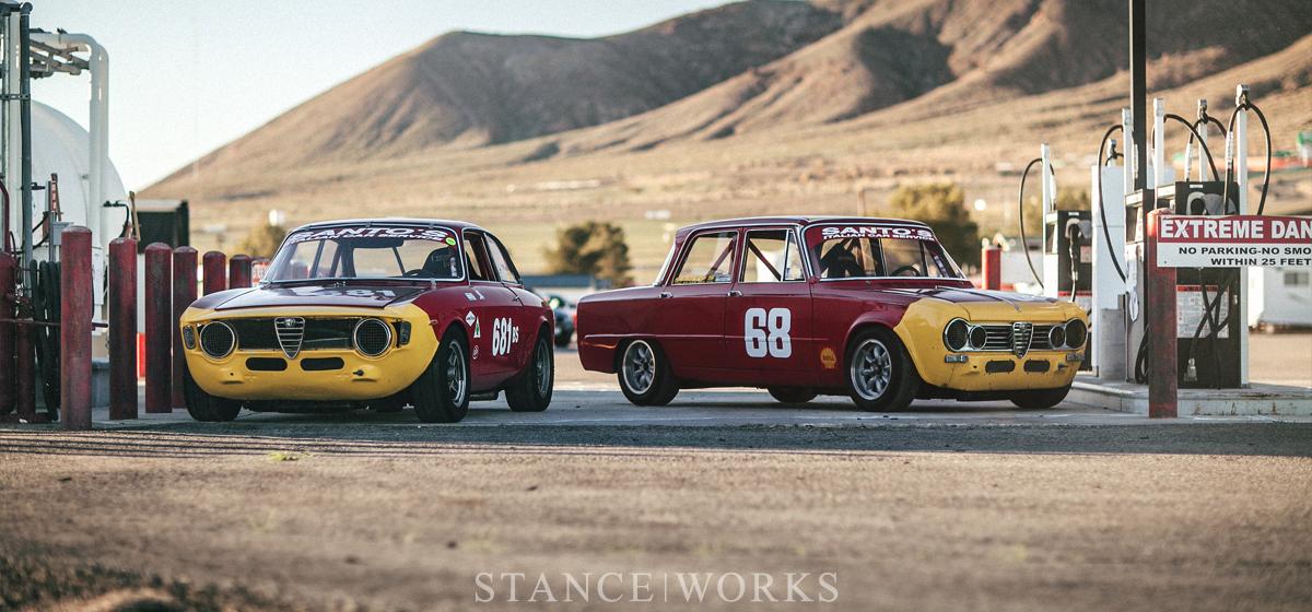 Italian Heritage - Anthony and Fabrizio Rimicci's Alfa Romeo Track Duo