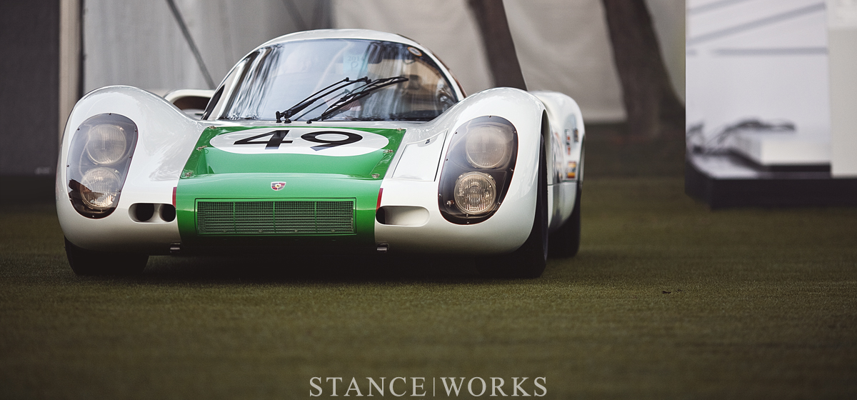 Aesthetics : The 1968 Porsche 907K 024 - A Sebring Winner