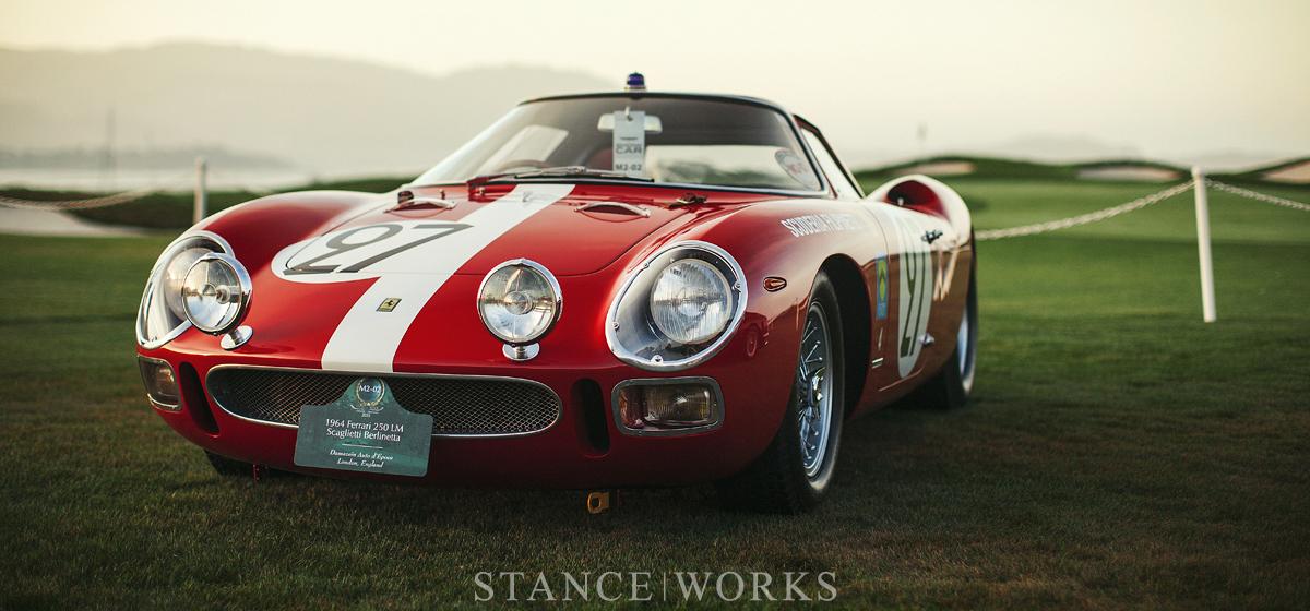 Aesthetics - The 1964 Ferrari 250 LM Scaglietti Berlinetta Coupe