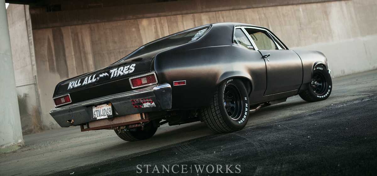 Kill All Tires - Brian Scotto's 1972 Chevy 'Napalm Nova