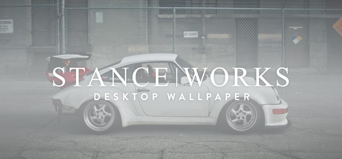 StanceWorks Wallpaper - Amir Bentatou's Porsche 911 Track Car