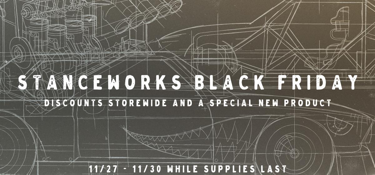 StanceWorks Black Friday