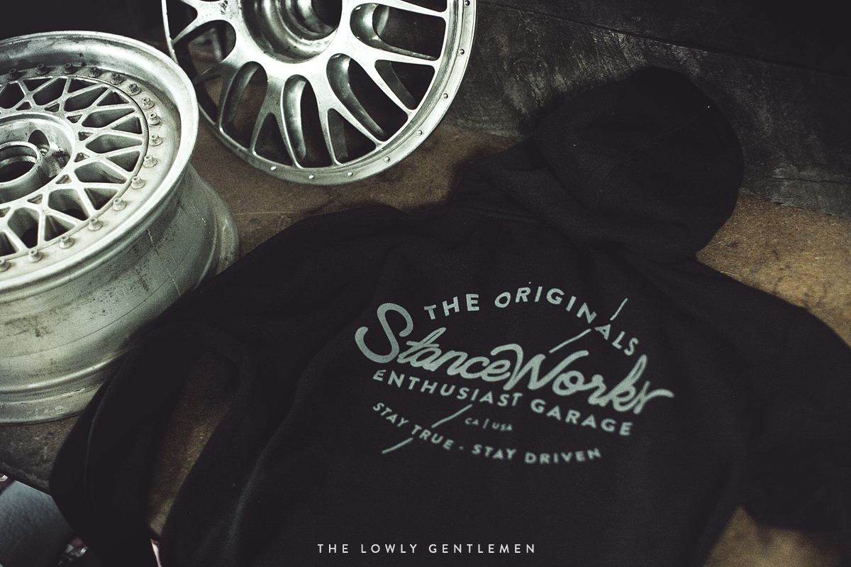 black stanceworks hooded sweatshirt