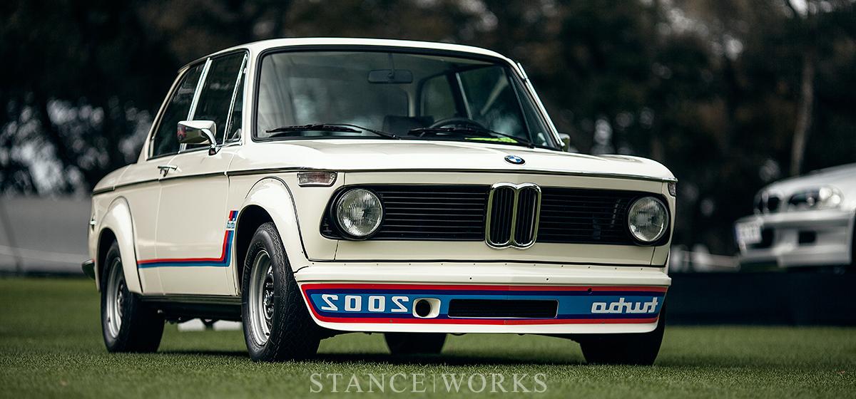 100 Years of BMW - The BMW 2002 Turbo at Amelia Island