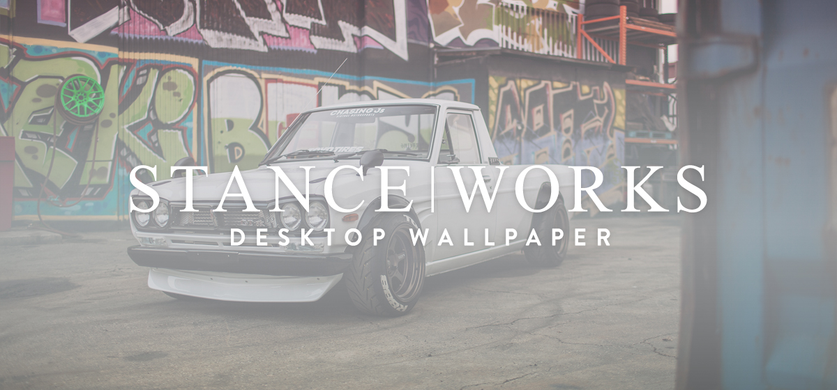 "StanceWorks Wallpaper - Dominic Le's Hakotora ""Skyline Pickup"""