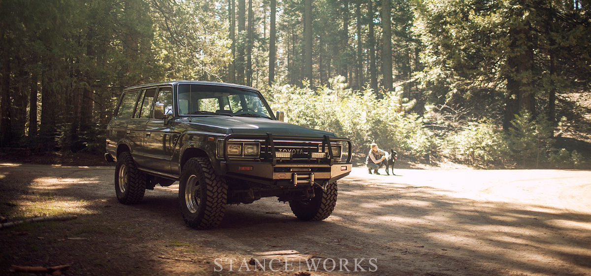 StanceWorks Off Road - Yosemite & The Sequoias in the S|W FJ62 Land Cruiser
