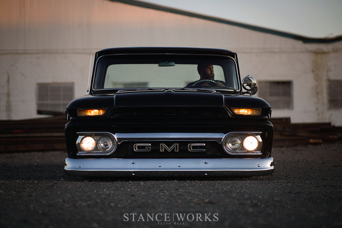 Aesthetics The Iconic Beauty Of Dave Cantrell S 1966 C10 Gmc Shortbed Fleetside Captured By Keith Ross
