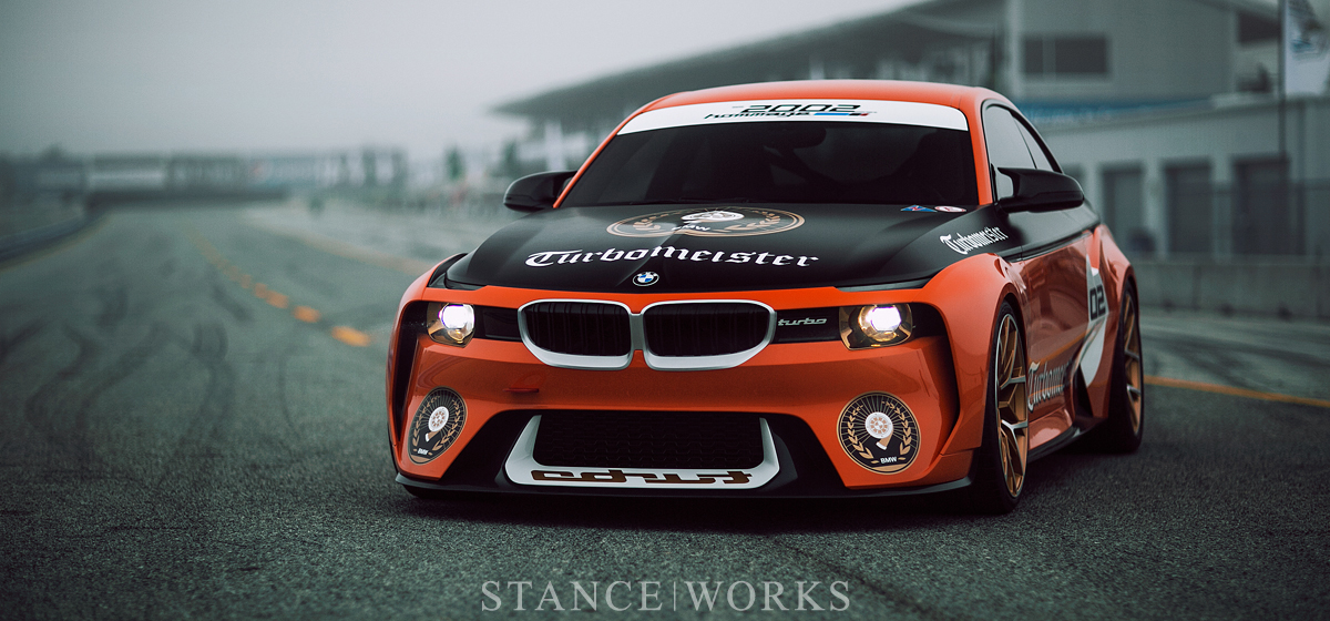 """Turbomeister"" - The BMW 2002 Hommage Concept"