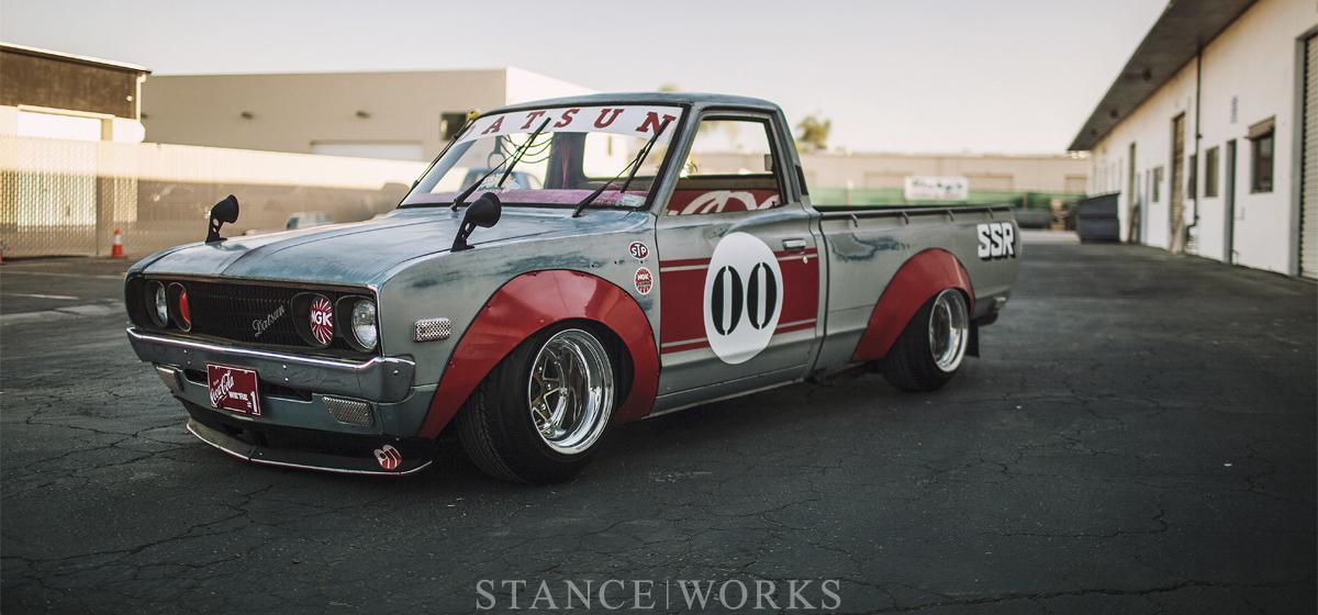 """""""Works Style"""" - Landon Brown's 1973 Datsun 620 Pickup"""